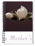 Mothers Day Card Spiral Notebook