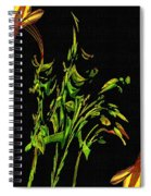 Motif Japonica No. 5 Spiral Notebook