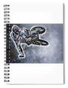 Motocross  Spiral Notebook
