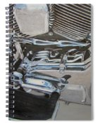 Motorcycle Close Up 2 Spiral Notebook
