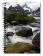 Mount Assiniboine Canada 17 Spiral Notebook
