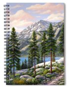 Mountain Trail Spiral Notebook