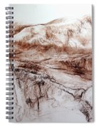 Mountains In Snowdonia Spiral Notebook