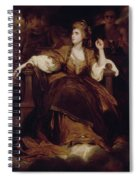 Mrs. Siddons As The Tragic Muse Spiral Notebook