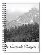 Mt. Baker, Cascade Range, Late Afternoon Spiral Notebook