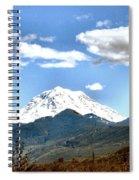 Mt Rainier Washington Spiral Notebook