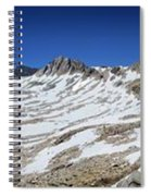 Muir Pass Panorama From High Above - John Muir Trail Spiral Notebook