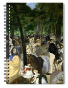 Music In The Tuileries Spiral Notebook