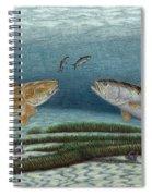 Mutual Pursuit Spiral Notebook