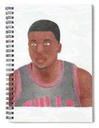 Nate Robinson Spiral Notebook