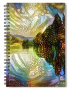 Nature Reflections Spiral Notebook