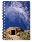 Navajo Hogan Spiral Notebook