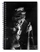 Navajo Man, C1915 Spiral Notebook