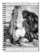 Neanderthal Man Spiral Notebook