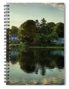 New England Scenery Spiral Notebook