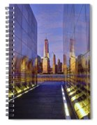 New Jersey Empty Sky 9-11 Memorial Spiral Notebook