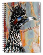 New Mexico Roadrunner Spiral Notebook