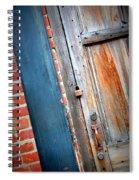 New Orleans Door 2 Spiral Notebook