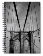 New York City - Brooklyn Bridge Spiral Notebook