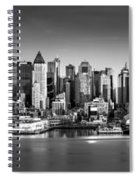 New York City Panorama Spiral Notebook