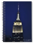 New York Empire State Building Spiral Notebook