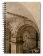 New York Library Spiral Notebook