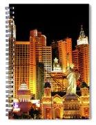 New York New York Hotel Spiral Notebook
