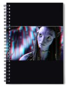 Neytiri - Use Red And Cyan 3d Glasses Spiral Notebook