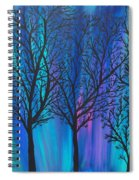 Night Beauty Spiral Notebook