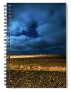 Icelandic Night  Spiral Notebook