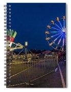 Night Riding 2 Spiral Notebook