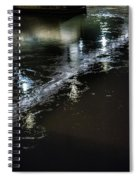 Night Stream Spiral Notebook