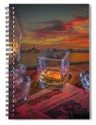 Night Work Spiral Notebook