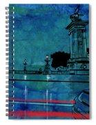 Nightscape 04 Spiral Notebook