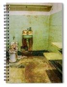 Alcatraz Cell 1 Spiral Notebook