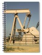 Nodding Donkey Oil Pumps Spiral Notebook