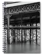 North Pier Blackpool Spiral Notebook