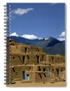 North Pueblo Taos Spiral Notebook