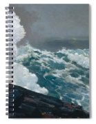 Northeaster, 1895 Spiral Notebook
