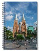 Notre-dame Cathedral Basilica Of Saigon, Officially Cathedral Basilica Of Our Lady Of The Immaculate Spiral Notebook