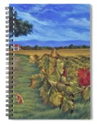 November Vineyard Spiral Notebook