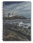 Nubble Lighthouse Spiral Notebook