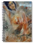 Nude 450101 Spiral Notebook