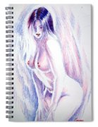 Nude Woman Spiral Notebook