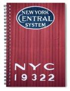 Nyc 19322 Spiral Notebook