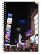 Nyc Times Square Spiral Notebook