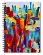 Nyc View Spiral Notebook