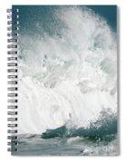 Oahu Wave Spiral Notebook