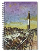 Oak Island Lighthouse Spiral Notebook