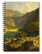 Obersee. Bavarian Alps Spiral Notebook